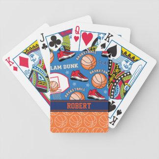 Het SPORTEN Gepersonaliseerde Patroon van de Poker Kaarten