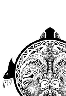 Schildpad Tattoo Notitieboeken Zazzlebe