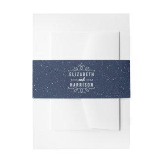 Het sterrige Collectie van het Huwelijk van de Uitnodigingen Wikkel