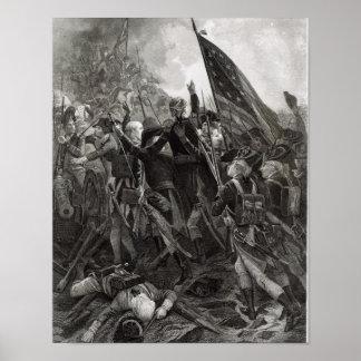 Het stormen van Steenachtig Punt, Juli 1779 Poster