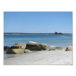 Het Strand Nova Scotia Canada van Carters Foto Afdruk