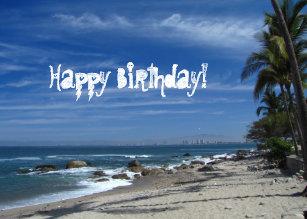 Afbeeldingsresultaat voor gelukkige verjaardag strand