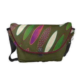 het surfen - kleurensurfplanken courier bags