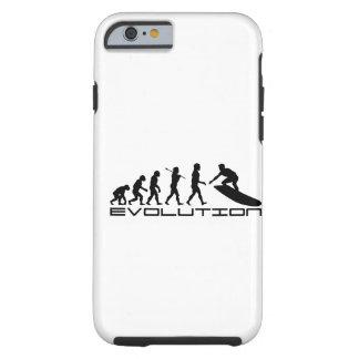 Het Surfen van Surfer het Art. van de Evolutie van Tough iPhone 6 Hoesje