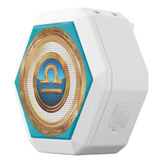 Het Symbool van de Dierenriem van de Weegschaal Witte Bluetooth Speaker