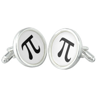 Het Symbool van pi Manchetknopen