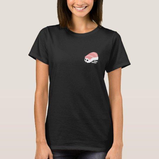 Het T-shirt van de Vrouw van de Sushi van Yummi
