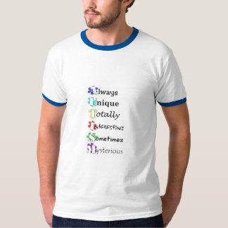 Het T-shirt van het Autisme van de definitie