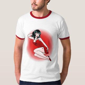 Het Tattoo van de jaren '50 van de T-shirt van het