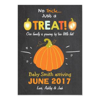 Het Trick or treat van de de Kaart