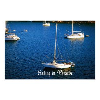 Het varen in Paradijs Briefpapier