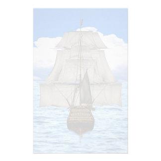 Het varen van het schip briefpapier