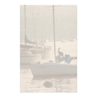 Het Varende Zee van de Boot van het Wild van de Briefpapier
