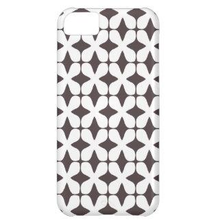 Het vector Patroon het Frans roostert Bruin Hoesje iPhone 5C Hoesje