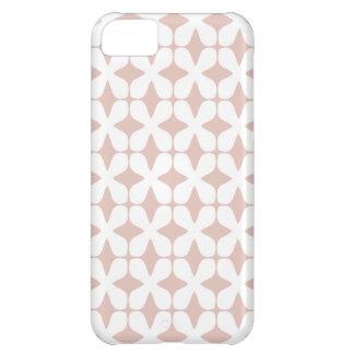 Het vector Patroon nam het Roze Hoesje iPhone5 van iPhone 5C Hoesje