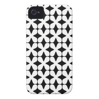 Het vector Zwart-witte Hoesje iPhone4S van het iPhone 4 Hoesje