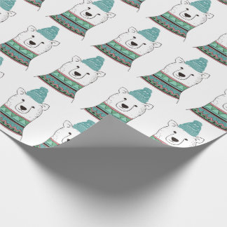 Het Verpakkende Document van de Ijsbeer Inpakpapier