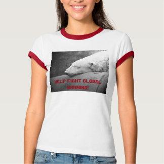 Het Verwarmen van de Strijd van de hulp het T Shirt