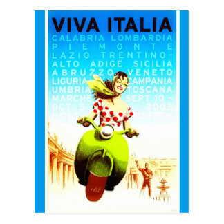 Het vintage Briefkaart van Italië