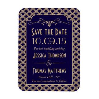Het vintage Collectie van het Huwelijk van Gatsby Magneet