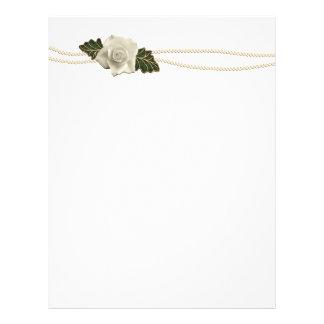 Het vintage Huwelijk nam toe Folders