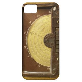 Het vintage RadioHoesje van iPhone Barely There iPhone 5 Hoesje