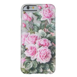 Het vintage Roze Boeket van Rozen Barely There iPhone 6 Hoesje