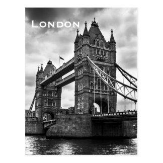 Het vintage Toerisme van de Reis van Londen Briefkaart