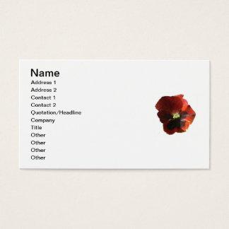 Het Visitekaartje van de bloemist Visitekaartjes
