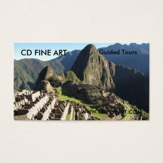 Het Visitekaartje van de Diensten van de reis Visitekaartjes