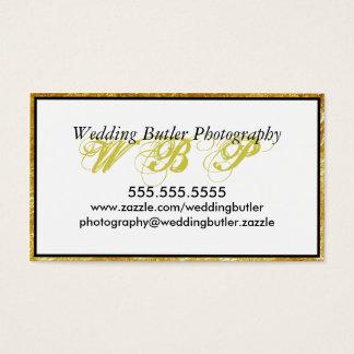 Het Visitekaartje van de Fotograaf van het Visitekaartjes