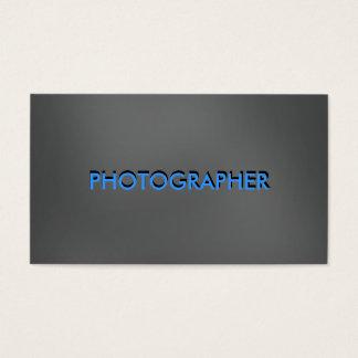 Het Visitekaartje van de fotograaf Visitekaartjes