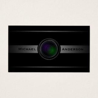 Het Visitekaartje van de Fotografie van de Lens Visitekaartjes