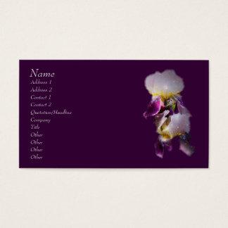 Het Visitekaartje van de iris Visitekaartjes