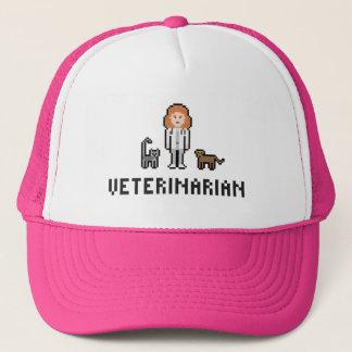 Het Vrouwelijke Veterinaire Pet van het pixel