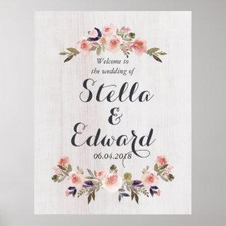 Het welkome teken van het huwelijk poster