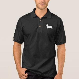 Het Welse Silhouet Corgi van Pembroke Polo