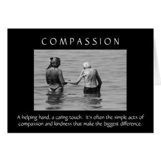 Het Wenskaart van het medeleven