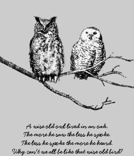 Fonkelnieuw Uil Gedicht Briefkaarten | Zazzle.be CI-84