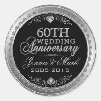 Het zilveren Jubileum van het Lijst & van het Ronde Sticker