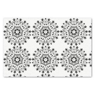 Het zwart-witte ontwerp van het papieren zakdoekje tissuepapier
