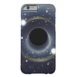 Het Zwarte gat van de melkweg in ruimte Barely There iPhone 6 Hoesje