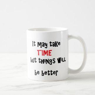 heure d'être une meilleure tasse