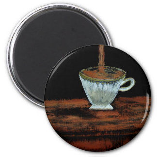 Heure du thé aimant
