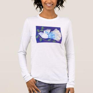 Heure pour le T-shirt de paix pour des adultes et