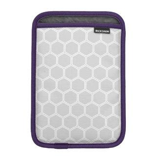 Hexagone argenté 1 housses pour iPad mini