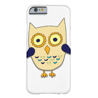Hibou coloré coque iPhone 6 barely there