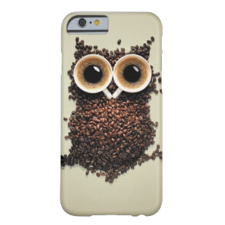 Hibou de caféine coque iPhone 6 barely there