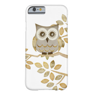 Hibou large de yeux dans l'arbre coque iPhone 6 barely there