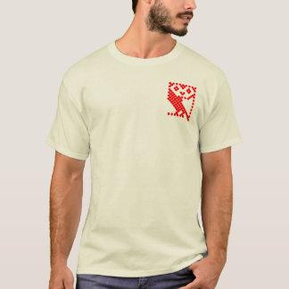 Hibou micro de BBC - petit rouge T-shirt